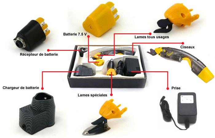 Ciseau de coupe electrique a batterie easy cutter