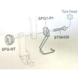 Protège doigt pied machine simple/double entrainement