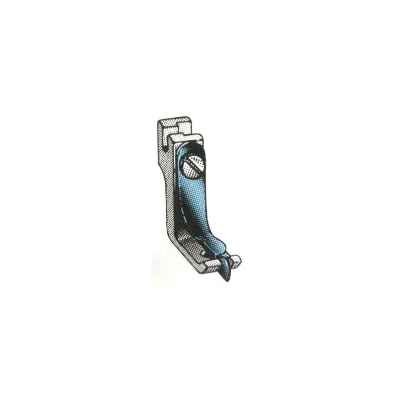 Pied rabatteur avec guide P10 (0.8mm)