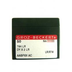 Aiguilles industrielles Groz-Beckert 794 LR tous diamètres ( X50 aiguilles )