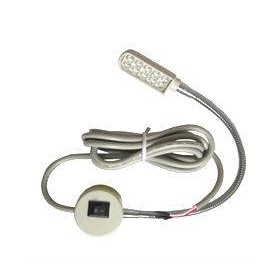 Lampe LED 220V ajustable avec interrupteur