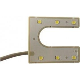 Lampe LED 220V aimantée en U
