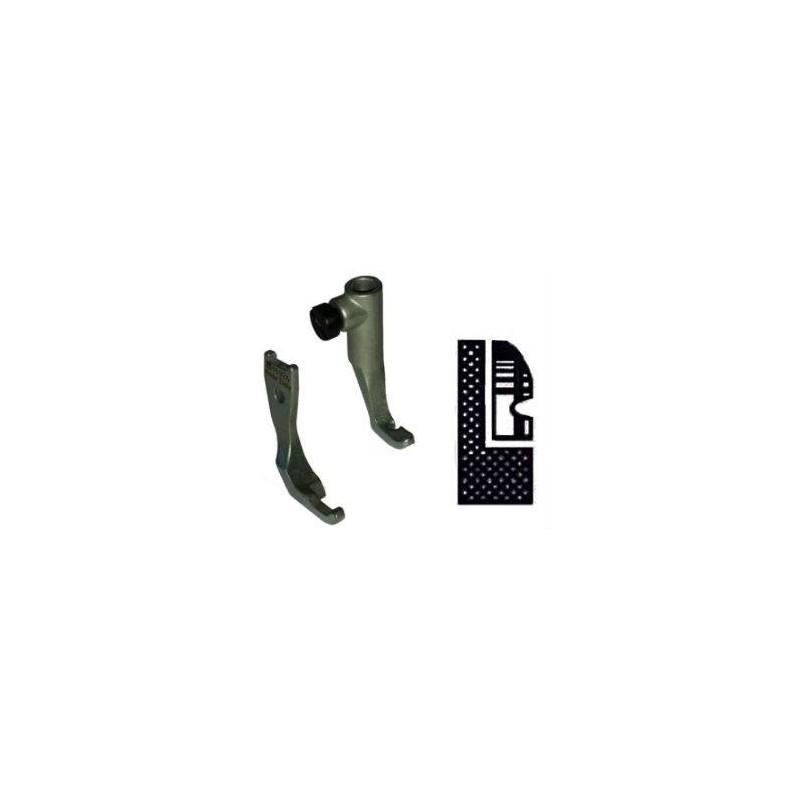 Kit demi pied branche gauche pour griffe 6mm PFAFF 145/335/545/1245