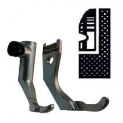 Kit demi pied branche droite pour griffe 6mm PFAFF 145/335/545/1245