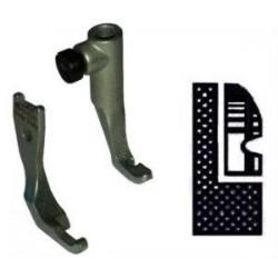 Kit demi pied branche gauche pour griffe 8mm PFAFF 145/335/545/1245