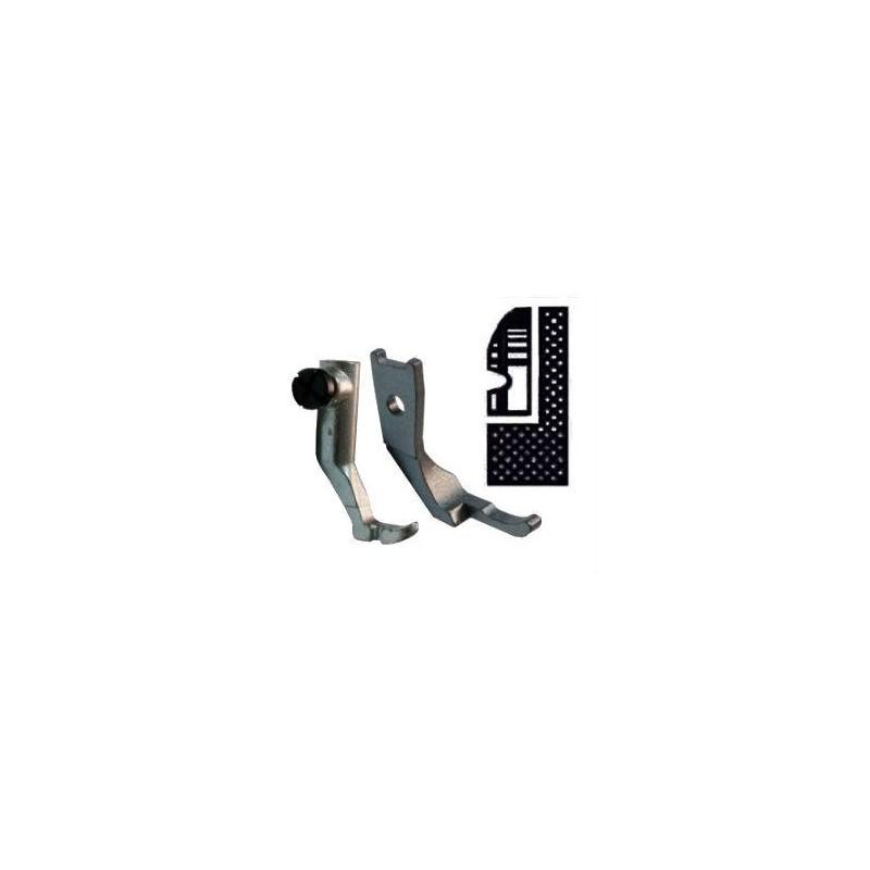 Kit demi pied branche droite pour griffe 8mm PFAFF 145/335/545/1245
