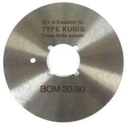 Lame kuris BOM 30 / 80 ronde 15760