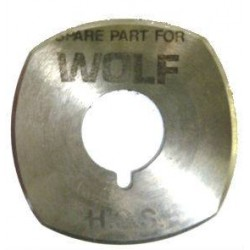 Lame WOLF PUP 4 pans Ø52.5mm