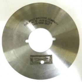 Lame WOLF CLIPPER ronde Ø101.6mm