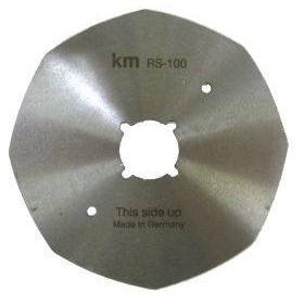 Lame KM RS-100-octa 8 pans Ø100mm