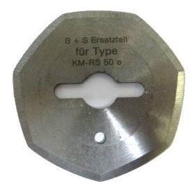 Lame KM RS50 - BIRDIE 7 pans Ø50mm