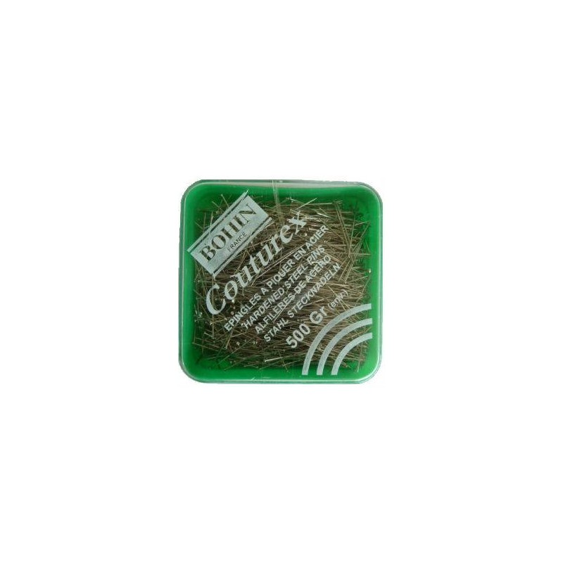 Epingles de couture couturex extra-fines 30 x 0.60mm BOHIN (500g)