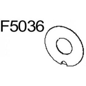 Rondelle pignon lame RASOR F5036