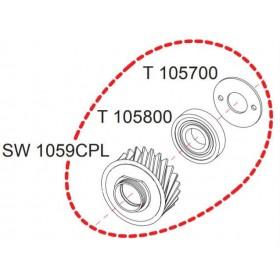 Pignon complet SW100 RASOR SW1059CPL