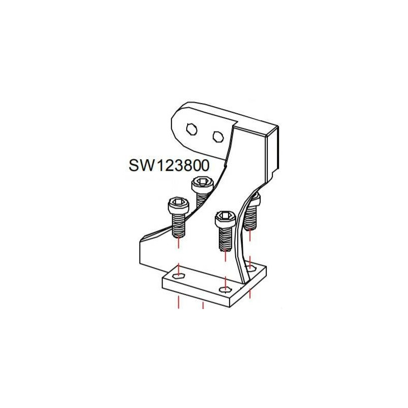 Support pied SW12 Monster RASOR SW123800