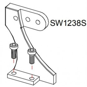 Support pied SW12 Monster GAUCHE RASOR SW1238S