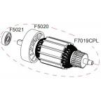 Rotor complet 220V OPTIMA702 / SPEEDCUT RASOR F7019CPL
