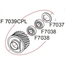 Pignon complet OPTIMA702 / SPEEDCUT RASOR F7039CPL