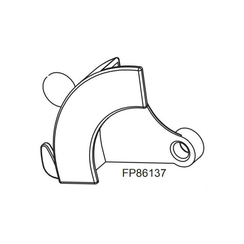 Carter plastique RASOR FP86137