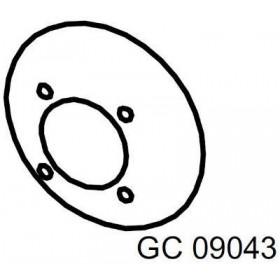 Vis serrage lame GREENCUTTER RASOR GC09043