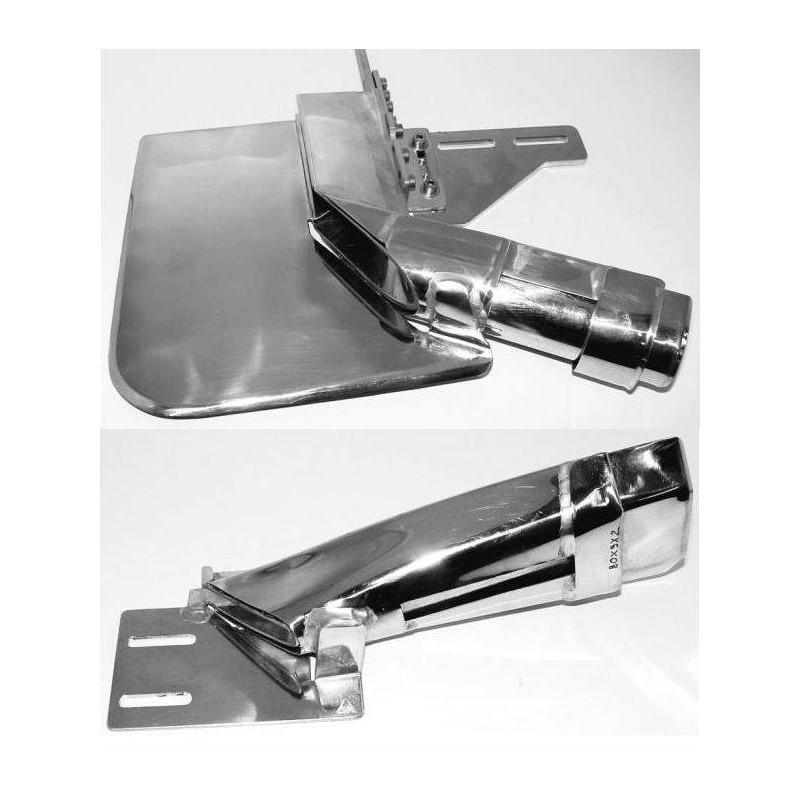 Guide bordeur angulaire sur mesure pour piscine, bâche, toile (TMC02904,TMC01130)