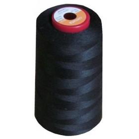 Cône de fil à coudre polyester 5000m noir