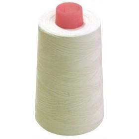 Cône de fil à coudre polyester 4500m écru