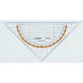 Equerre rapporteur 16cm LINEX