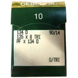 Aiguilles industrielles Groz-Beckert 134 D GEBEDUR (X10 aiguilles)