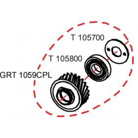 Pignon complet RASOR GRT1059CPL