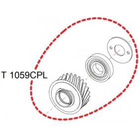 Pignon complet RASOR  D100 réf T1059CPL
