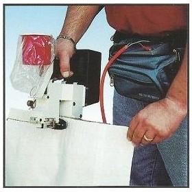 Machine a coudre portative / Couseuse portative pour sac OLIVIA TMUP 24V
