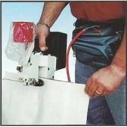Machine a coudre portative / Couseuse portative pour sac OLIVIA TMUP 220V (SUR SECTEUR)