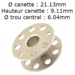 Canette a trou JUKI DDL8700 -DDL900A-DDL9000B réf 22932909