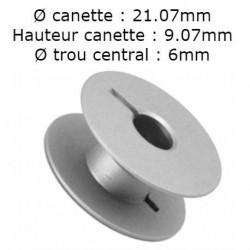 Canette aluminium standard juki/brother/mitsubishi