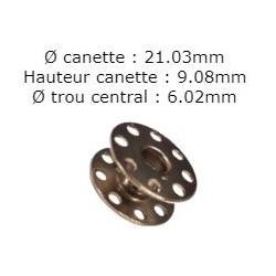 Canette standard a trou juki/brother/mitsubishi