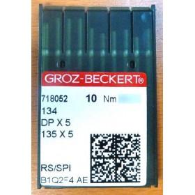 Aiguilles 134 RS / SPI pour machine a coudre industrielle Groz-Beckert (X10 aiguilles)