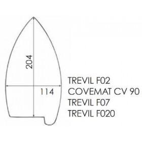 Semelle téflon COVEMAT CV90
