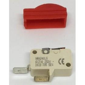 Micro contact avec protection rouge pour pistolet vapeur