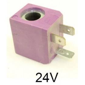 Bobine 24 volts pour électrovanne CEME série 55