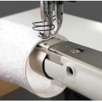 Exemple d'une couture en tubulaire sur PFAFF 335