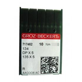 Aiguilles industrielles Groz-Beckert 134R tous diamètres (  X10 aiguilles )