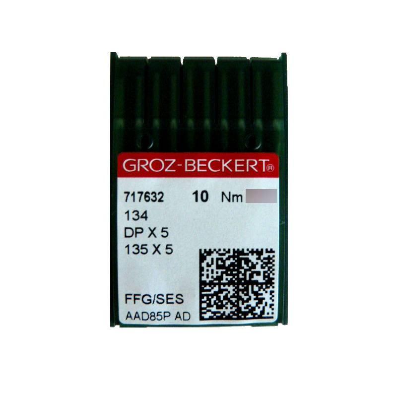 Aiguilles industrielles Groz-Beckert 134 FFG tous diamètres ( X10 aiguilles )