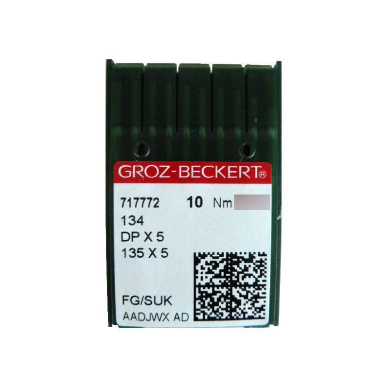 Aiguilles industrielles Groz-Beckert 134 FG tous diamètres ( X10 aiguilles )