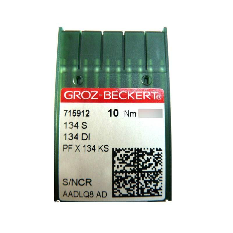 Aiguilles industrielles Groz-Beckert 134 S tous diamètres (X10 aiguilles)