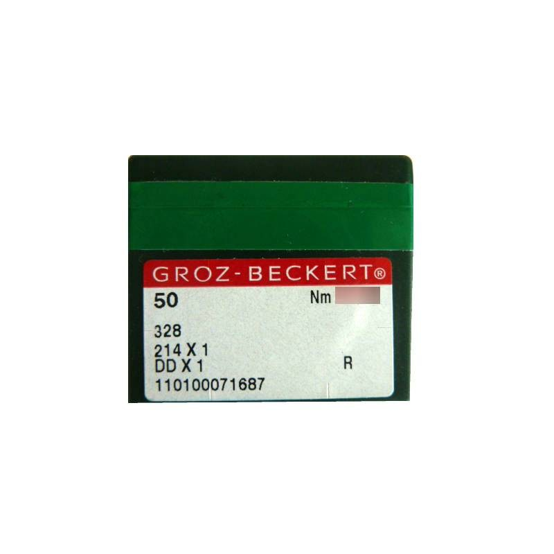 Aiguilles industrielles Groz-Beckert 328 R  tous diamètres ( X50 aiguilles )