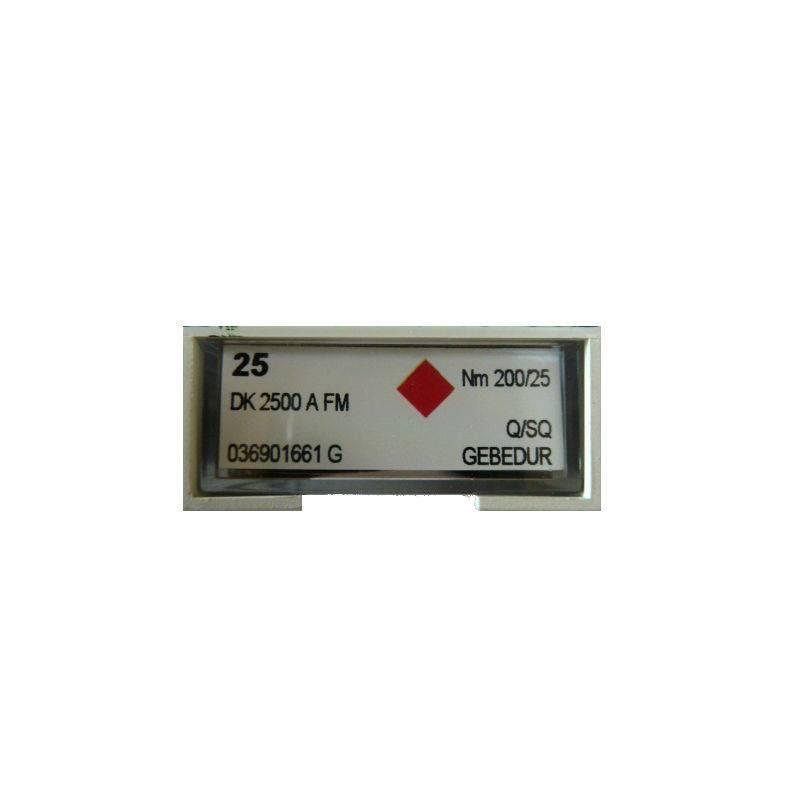 Aiguilles DK 2500 A FM groz beckert (X25 aiguilles)