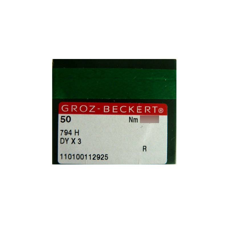 Aiguilles industrielles Groz-Beckert 794 H R tous diamètres ( X50 aiguilles )