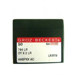 Aiguilles pour machine a coudre industrielle Groz-Beckert 794 LR tous diamètres (X50 aiguilles)