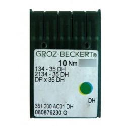 Aiguilles pour machine a coudre industrielle Groz-Beckert 134-35 DH (X10 aiguilles)